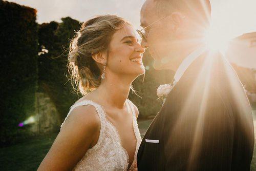El recogido que Laura Escanes escogió para el día de su boda