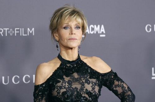 Jane Fonda en la Gala LACMA Art + Film celebrada en Los Ángeles