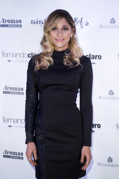 Mariam Hernández en la presentación de la colección 'Meraki' de la firma Fernando Claro en Madrid