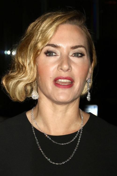 Kate Winslet con un corte bob en el estreno de la película 'Wonder Wheel' en Nueva York