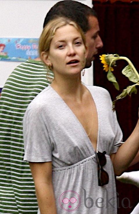 Kate Hudson sin maquillaje