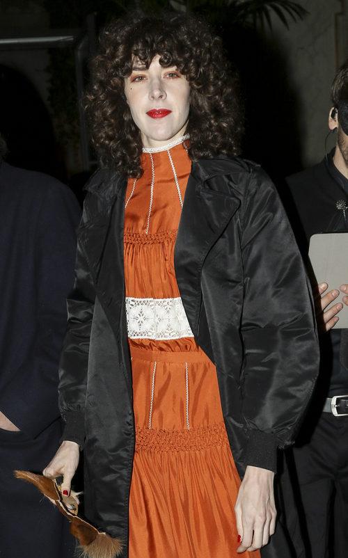 Brianda Fitz-James Stuart como una geisha en la fiesta de mácaras de Dior en Madrid