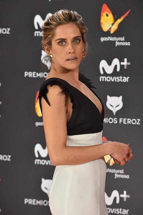 María León, en los Premios Feroz de 2017