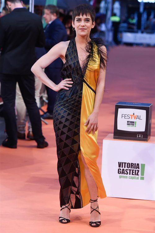 María León, en el FesTVal de Vitoria de 2017