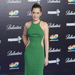 María León, en los Premios musicales de los 40 Awards de 2012