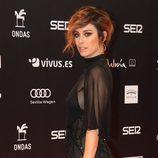 El semirecogido de Blanca Suárez en la entrega de los Premios Ondas 2017