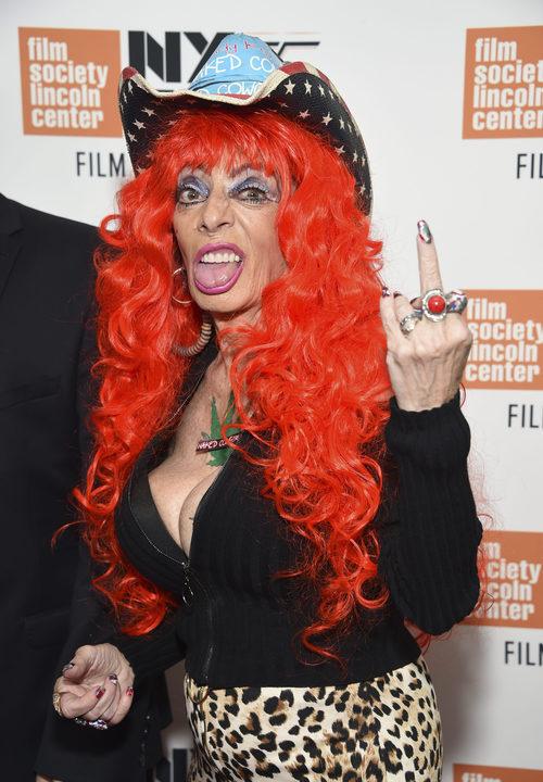 Sandy Kane en el pase especial de 'The Florida Project' en Nueva York Film Festival