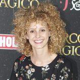 Esther Acebo presume de rizos en la presentación del Circo Mágico en Madrid