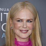 Nicole Kidman con pómulos marcados en los Critics' Choice Awards 2018