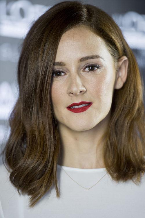 Ana Polvorosa con un nuevo corte de pelo bob long
