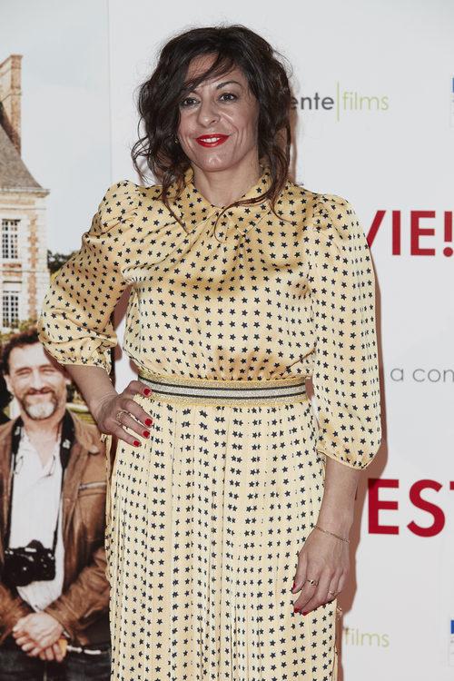Cristina Medina con un recodigo descuidado