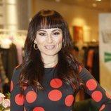 María Escoté con un cambio de look en la inauguración de 'Maestros de la costura'
