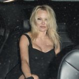 Pamela Anderson con la melena suelta en Hollywood