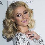 Paris Hilton con una melena midi en la premiere 'The American Meme' 2018