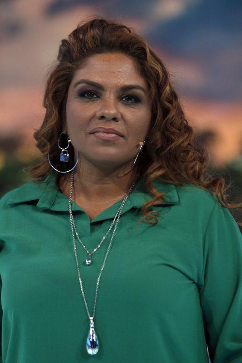 Saray Montoya con el pelo ondulado en la gala de Supervivientes 2018