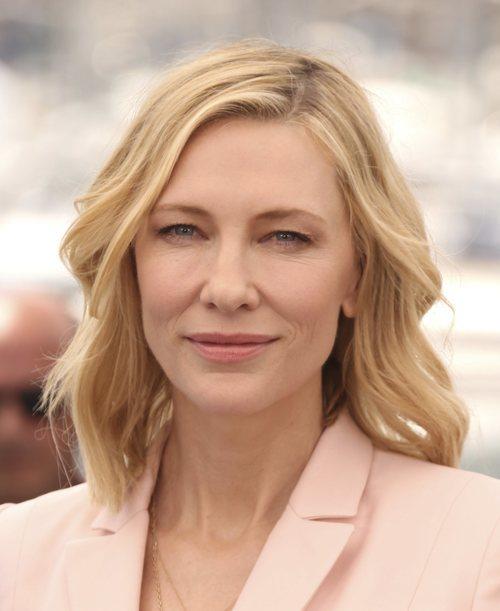 La naturalidad domina el maquillaje de Cate Blanchett