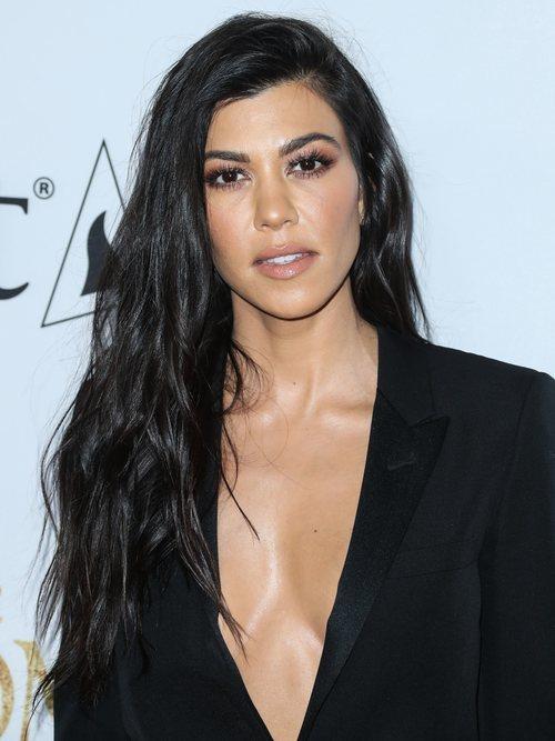 Kourtney Kardashian, en la premiere de