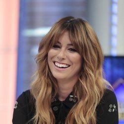 Blanca Suárez con el cabello ondulado en el programa 'El hormiguero' 2018