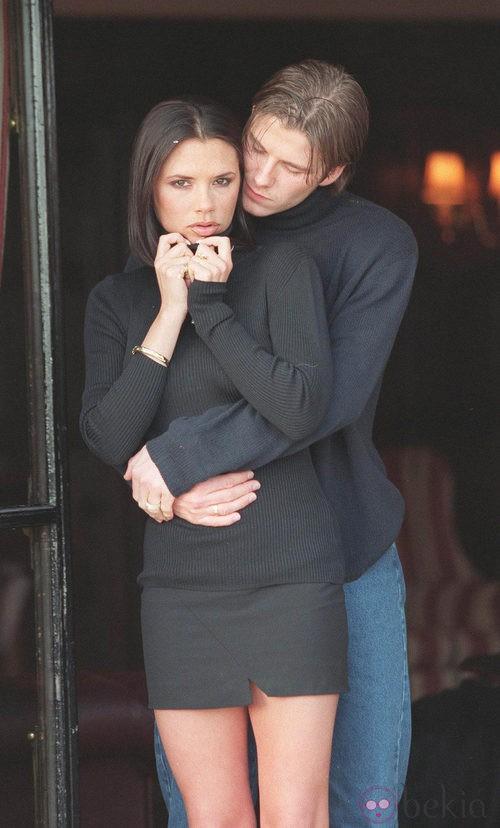 Victoria Beckham con media melena lisa