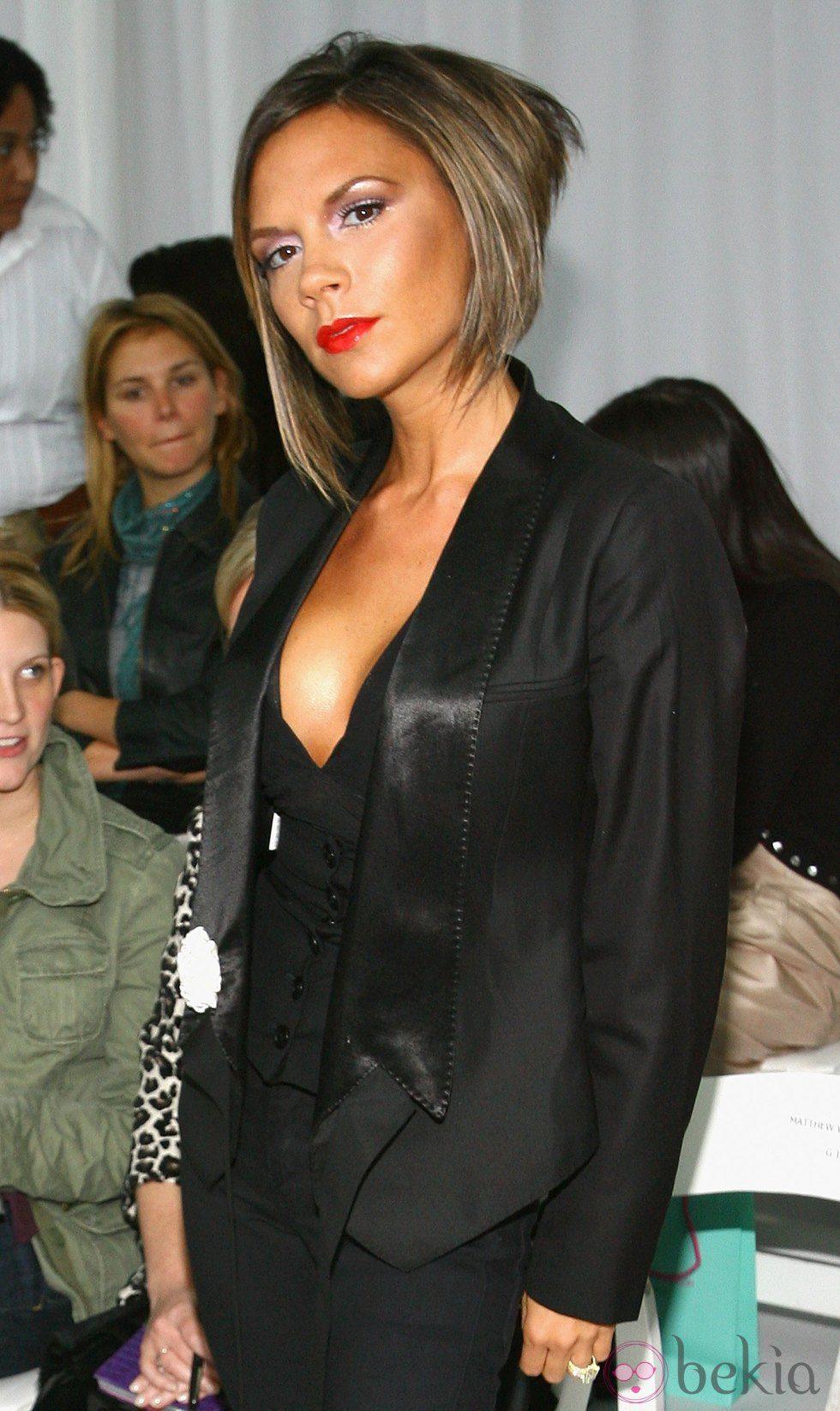 Victoria Beckham con corte tipo bob