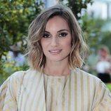 Norma Ruiz con unas sombras marrones en los Premios Lifestyle 2018