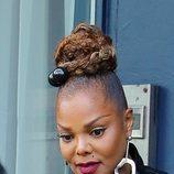 Janet Jackson con un recogido en Nueva York 2018