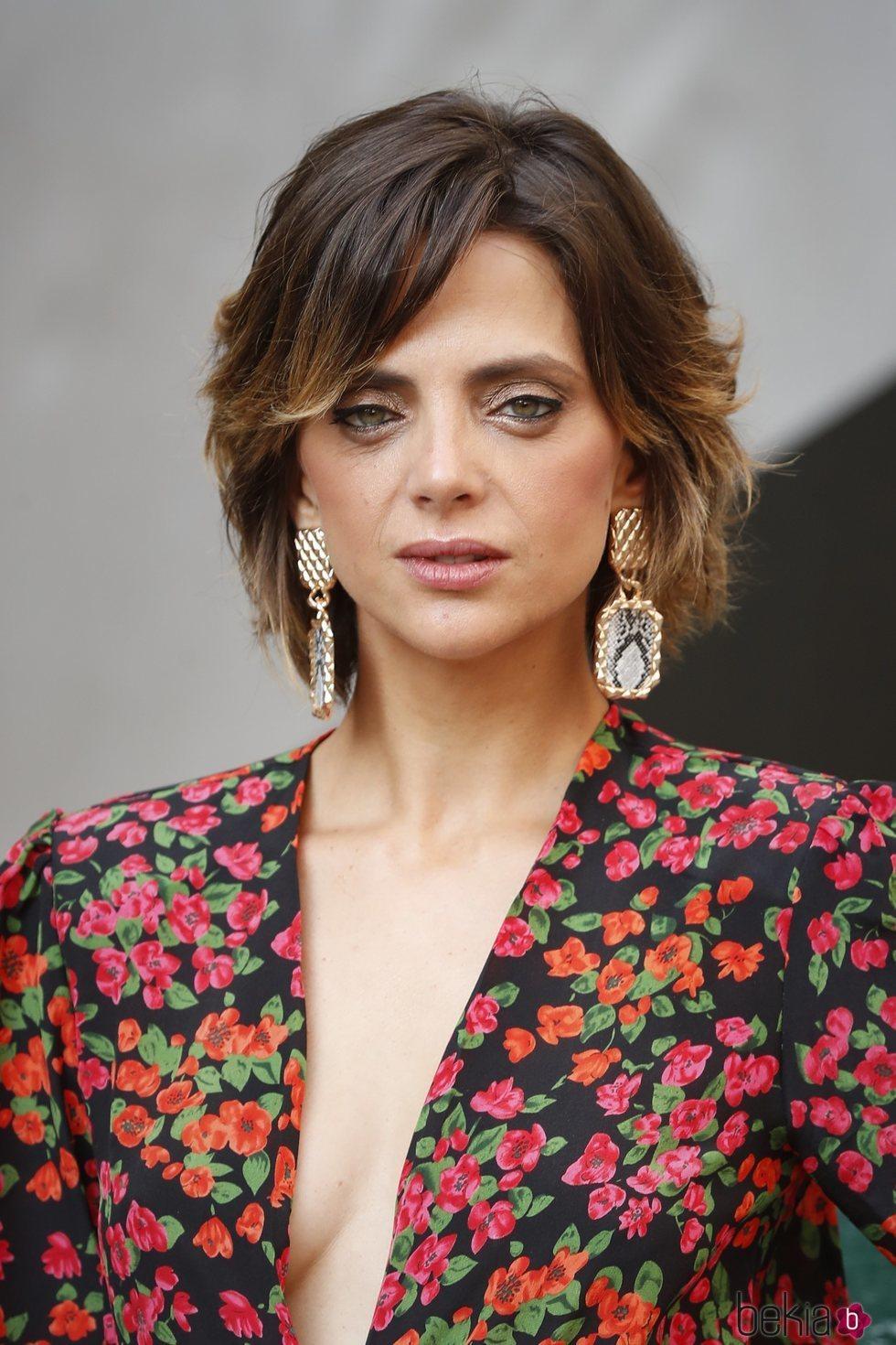 Macarena Gómez con el cabello corto en la apertura del Festival de Cine de Venecia 2018