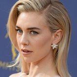 Vanessa Kirby opta por los tonos nude en los Premios Emmy 2018