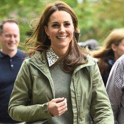 Kate Middleton retoma su agenda tras ser madre por tercera vez con un beauty look muy casual