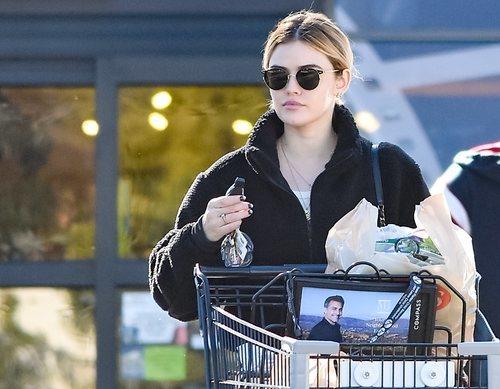 Lucy Hale de compras por Los Ángeles con coleta y sin maquillaje