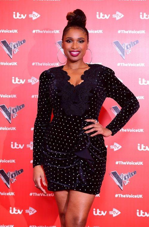 Jennifer Hudson con un moño XXL en la presentación de 'La Voz UK'