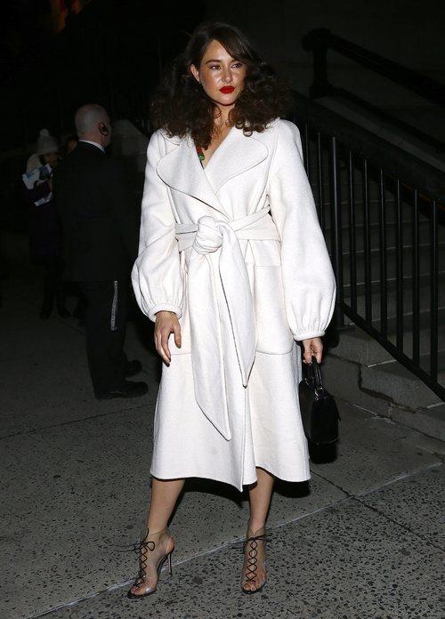 Shailene Woodley semana de la moda de New York