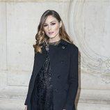Olivia Palermo  maquillaje elegante con raya de ojos