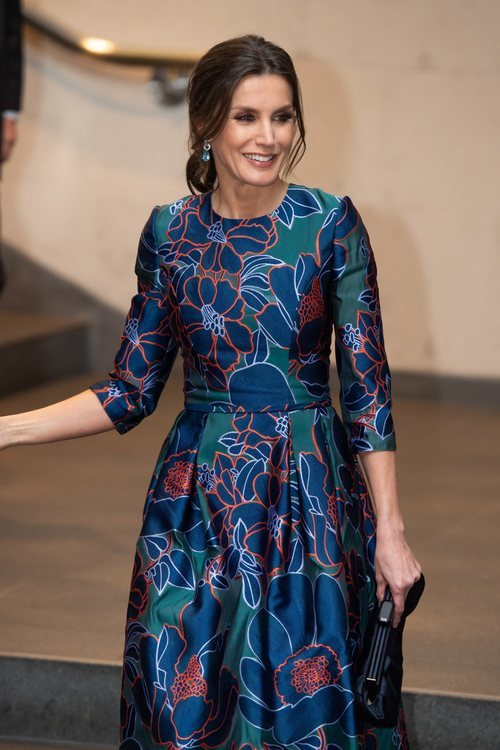 La Reina Letizia con un beauty muy elegante