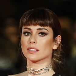 Blanca Suárez con un flequillo postizo