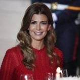 Juliana Awada con un  beauty muy romantico