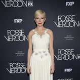 Michelle Williams con un look a lo Marilyn Monroe