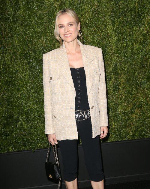 Diane Kruger con un beauty natural