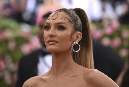 Candice Swanepoel en la MET Gala 2019