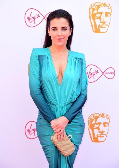 Jamie-Lee O'Donnell, la actriz de Derry Girls en la alfombra roja de los premios BAFTA