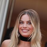 Margot Robbie con beauty look perfecto en la premier de 'Once Upon a Time in Hollywood'