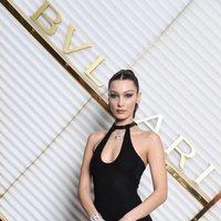 Bella Hadid asiste a la fiesta privada de Bvlgari durante la Milán Fashion Week