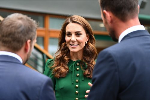 Kate Middleton en el torneo de Wimbledon con un elegante beauty look