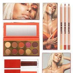 Productos de maquillaje de la nueva colección 'Fire Collection' de Kim Kardashian