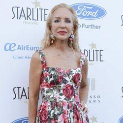 Carmen Lomana en la Gala Starlight de Marbella 2019 con la tendencia 'wet hair'