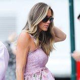 Lara Trump luce una perfecta melena rubia con ondas en Nueva York