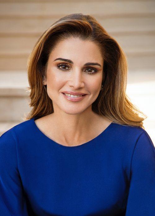 Retrato de Rania de Jordania por su 49 cumpleaños