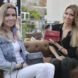 Nicole y Barbara Kimpel presentan su colección 'Baniki' en Marbella con un beauty look excesivo