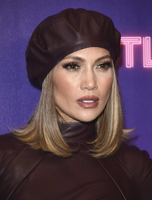 Jennifer Lopez en la presentación de 'Hustlers'