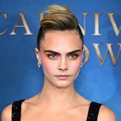 Cara Delevingne y el maquillaje multicolor que conquista Londres
